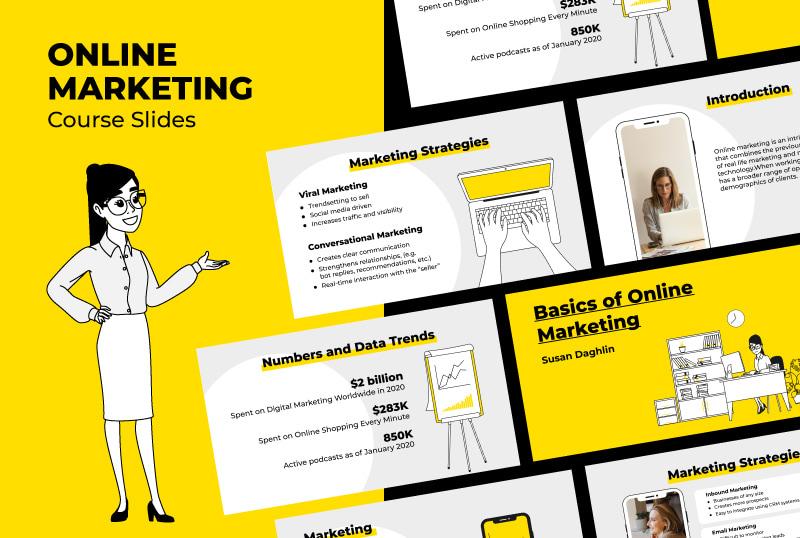 Online Marketing Course Slides
