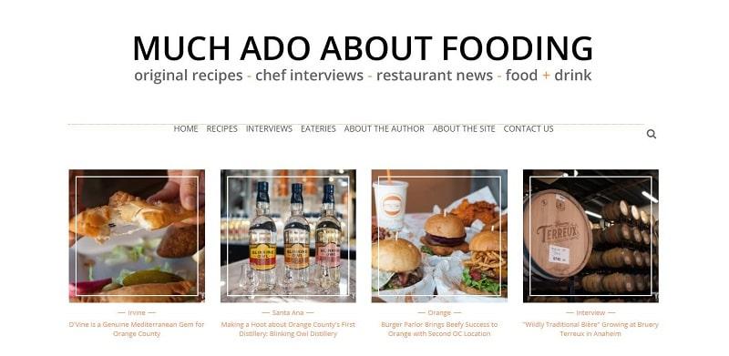 restaurant review website