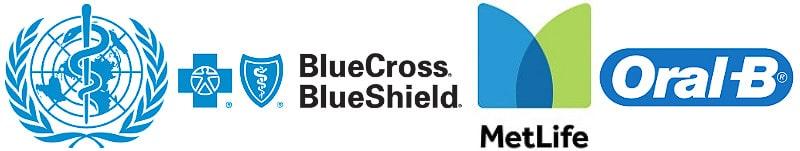 Healthcare blue logo examples