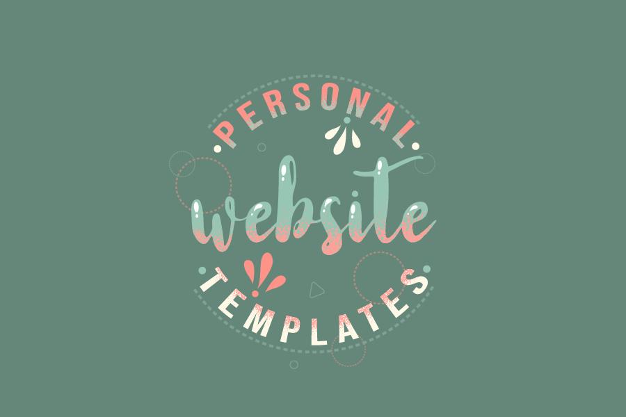 10+ Best Personal Website Templates