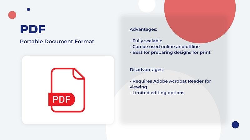 PDF image file type