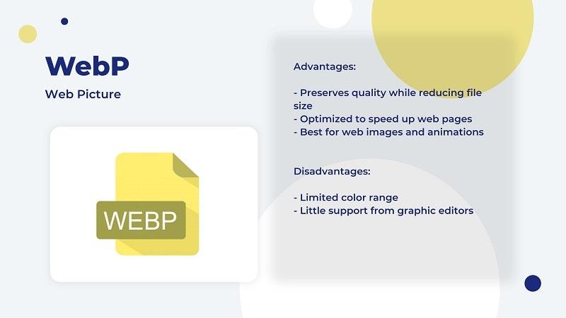 WebP image file type