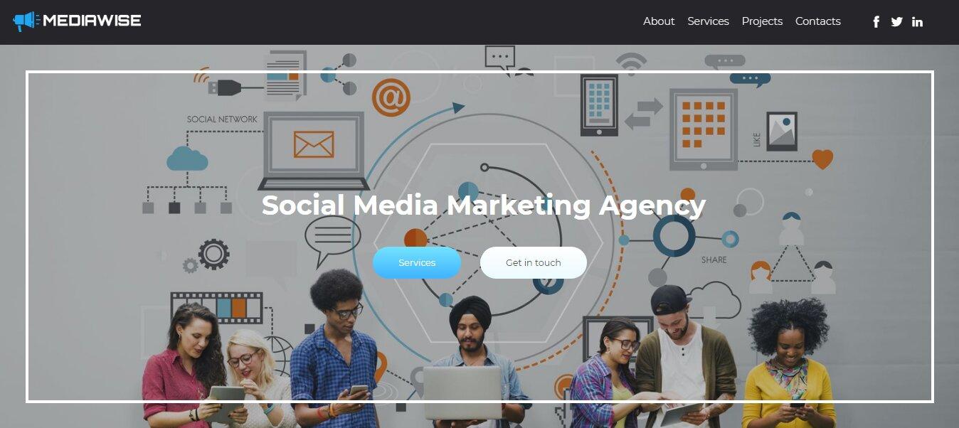 social media marketing website
