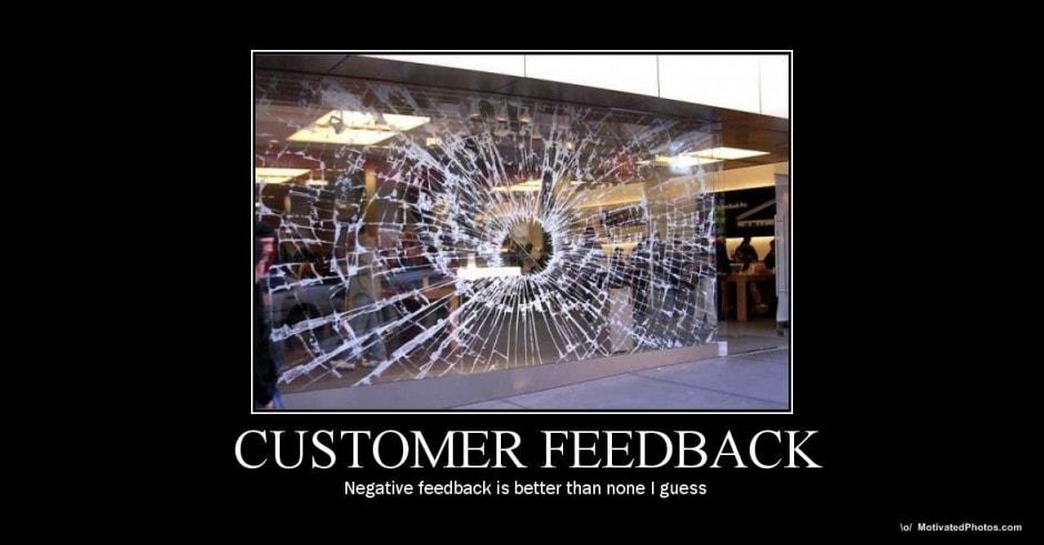 customer feedback funny