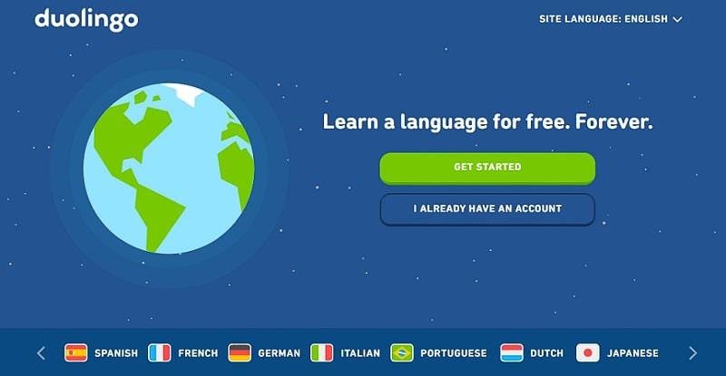 duolingo website