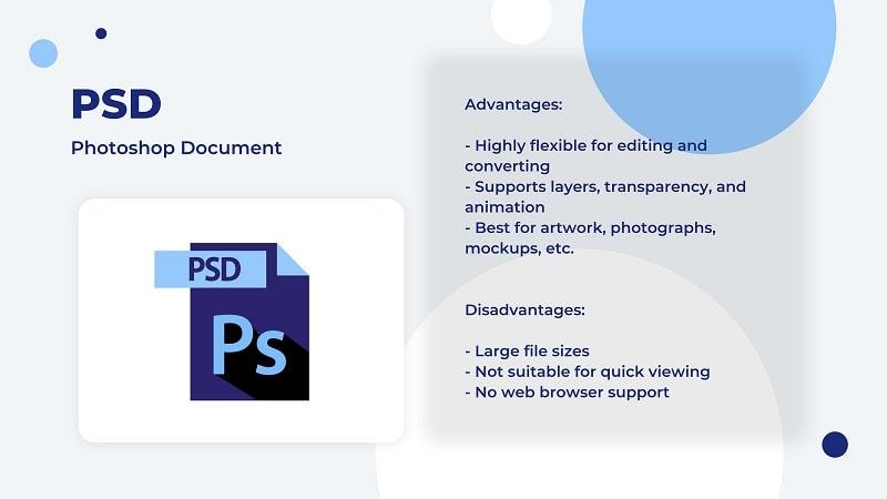 PSD image file type