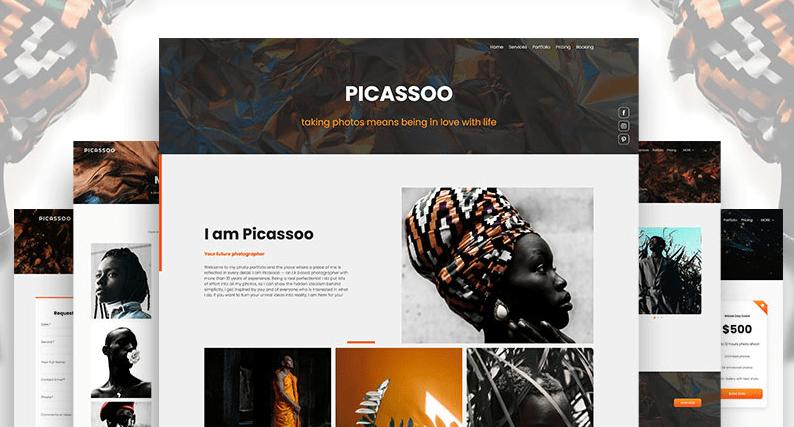portrait photography portfolio Renderforest