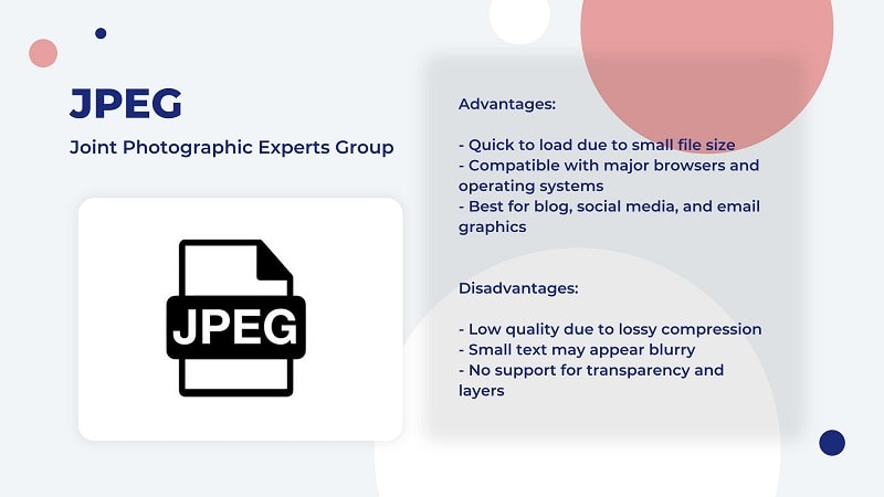 JPEG image file type