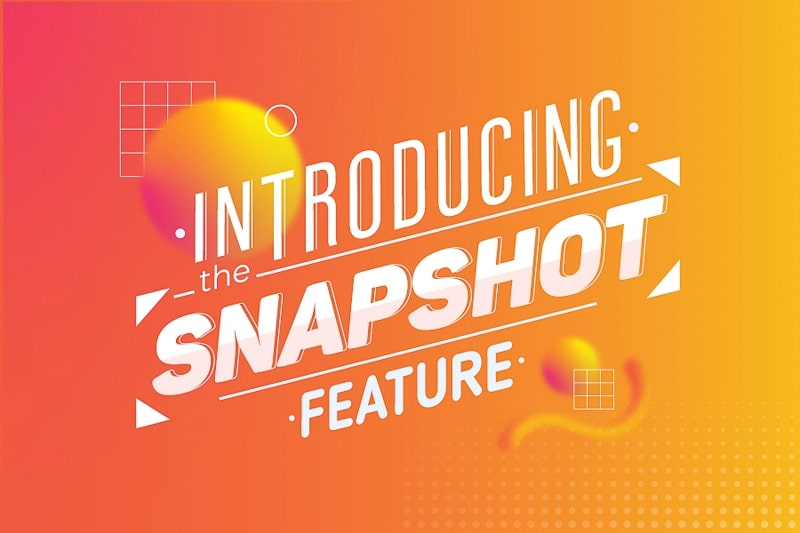 Introducing the Snapshot Feature