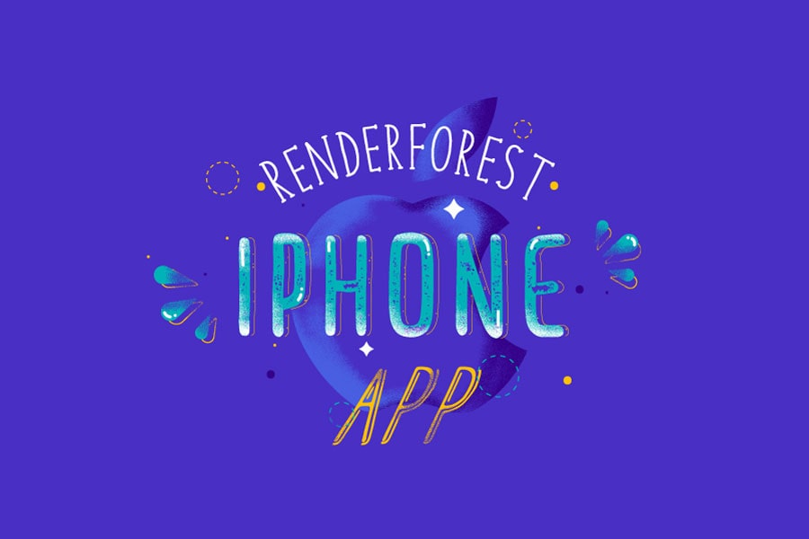 Introducing Renderforest Video Maker App for iPhone