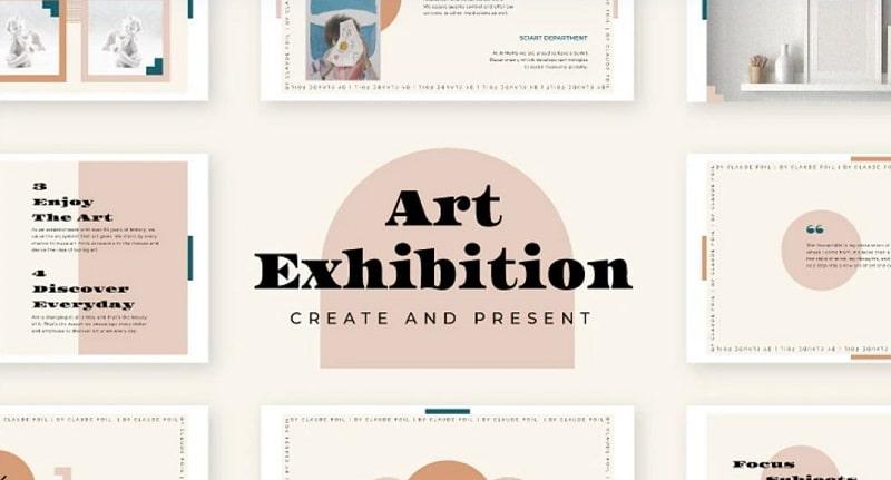 Art Exhibition Reception Slides Renderforest