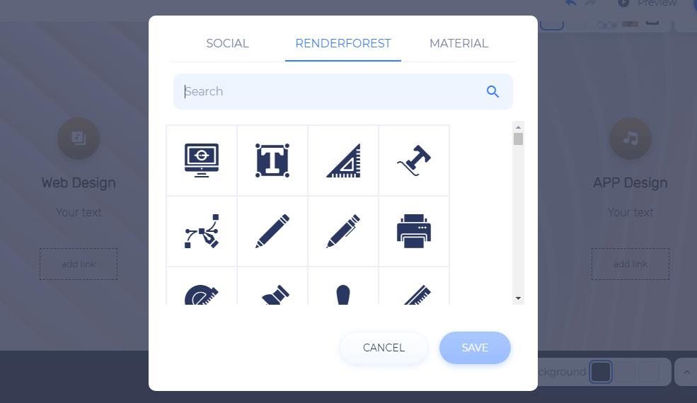 icon window