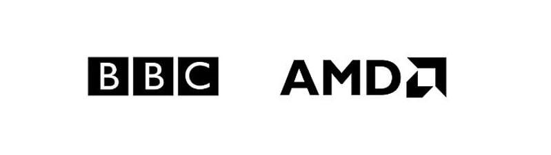 Gill Sans font on monogram logos