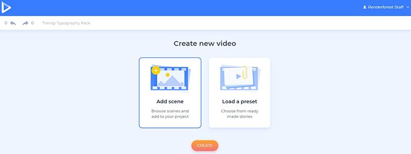 Motivational video tutorial - create