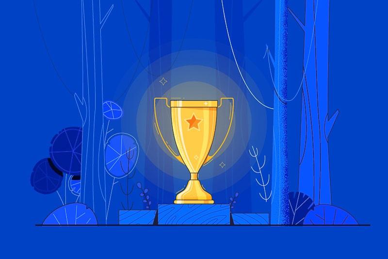 Renderforest Logo Maker: Premium Usability Award (FinancesOnline)