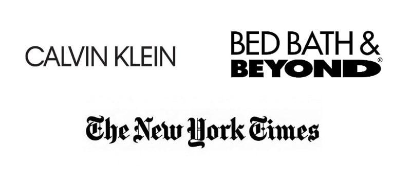 longer wordmark logo examples