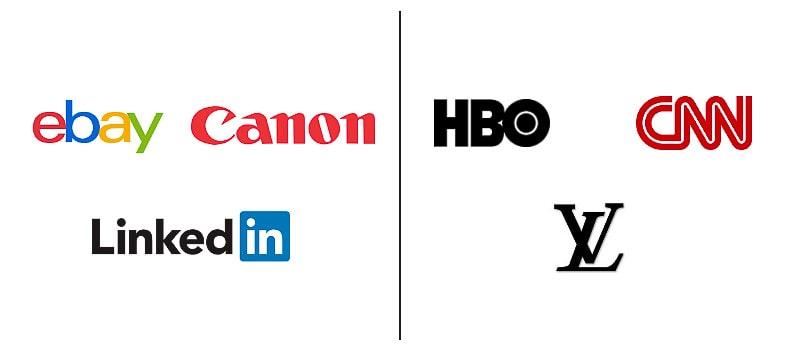 wordmark logos vs lettermark logos
