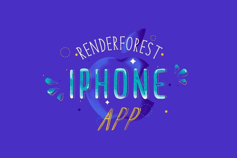 Introducing Renderforest Video Maker iOS App