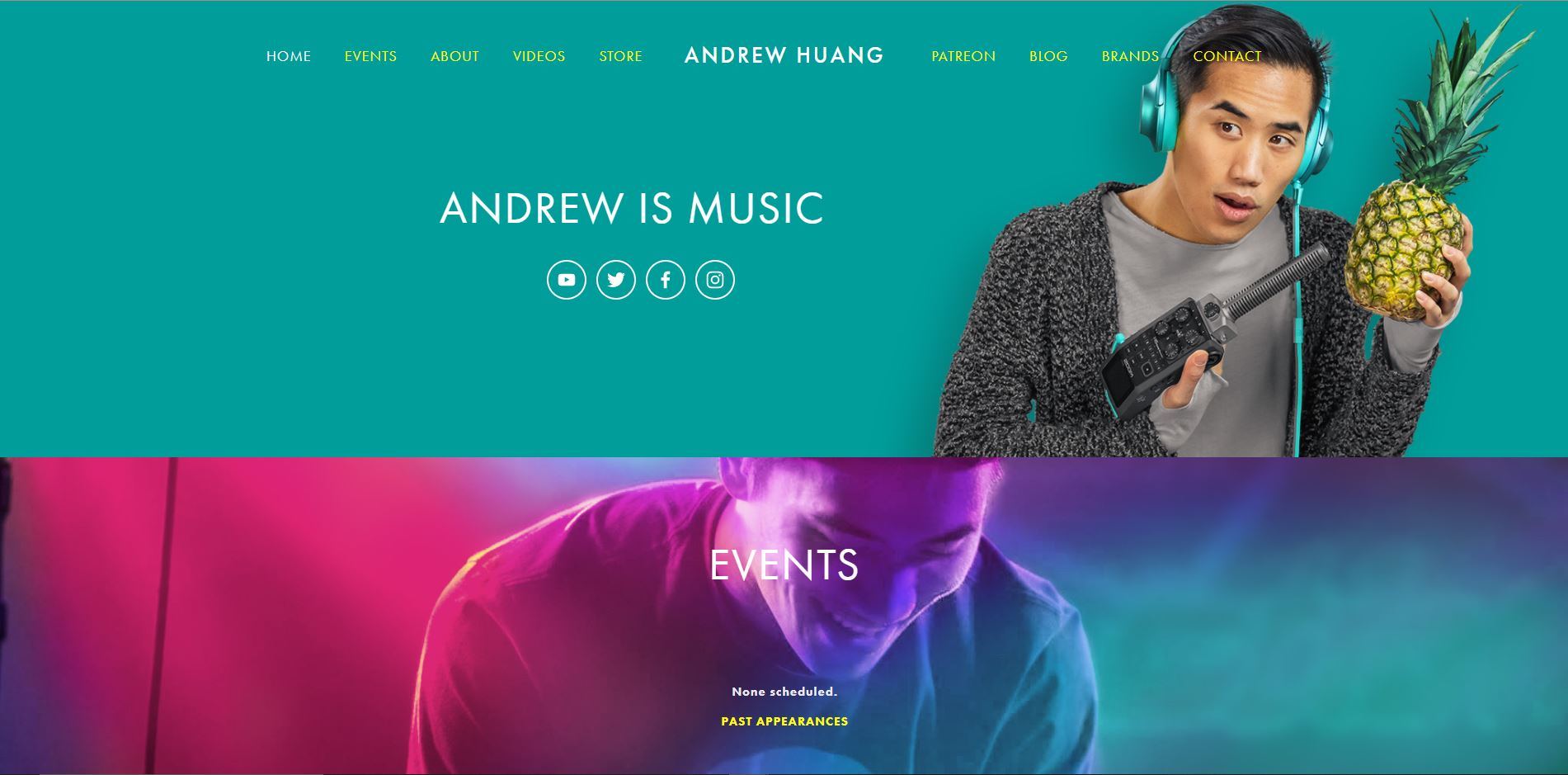 personal website example