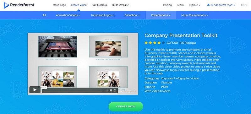 Company Presentation Toolkit