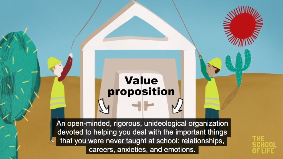 youtube channel value proposition