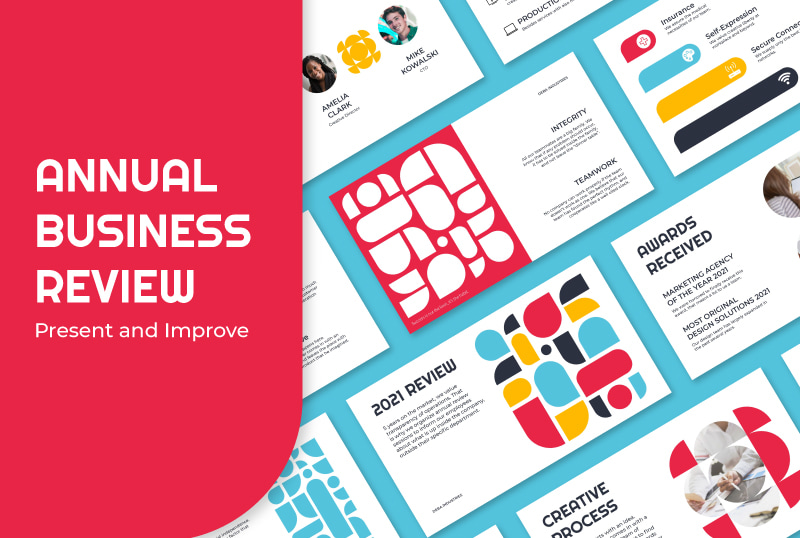 Annual Business Review Slides