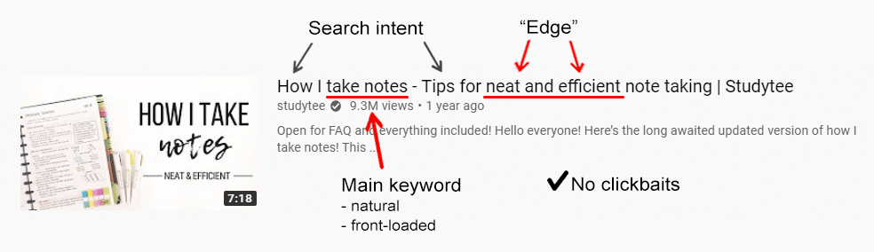 youtube title tips