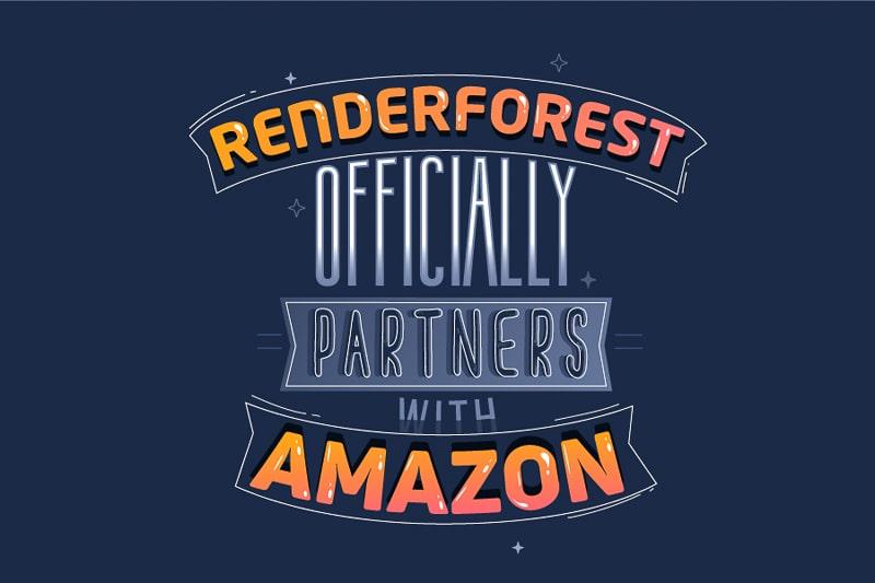 Renderforest es Oficialmente Socio Tecnológico de AWS