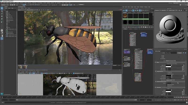 Maya Autodesk 3D animation tool