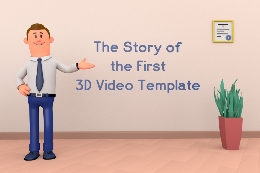3D Explainer Toolkit: The Story of the First 3D Video Template
