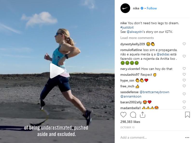 Share motivational videos