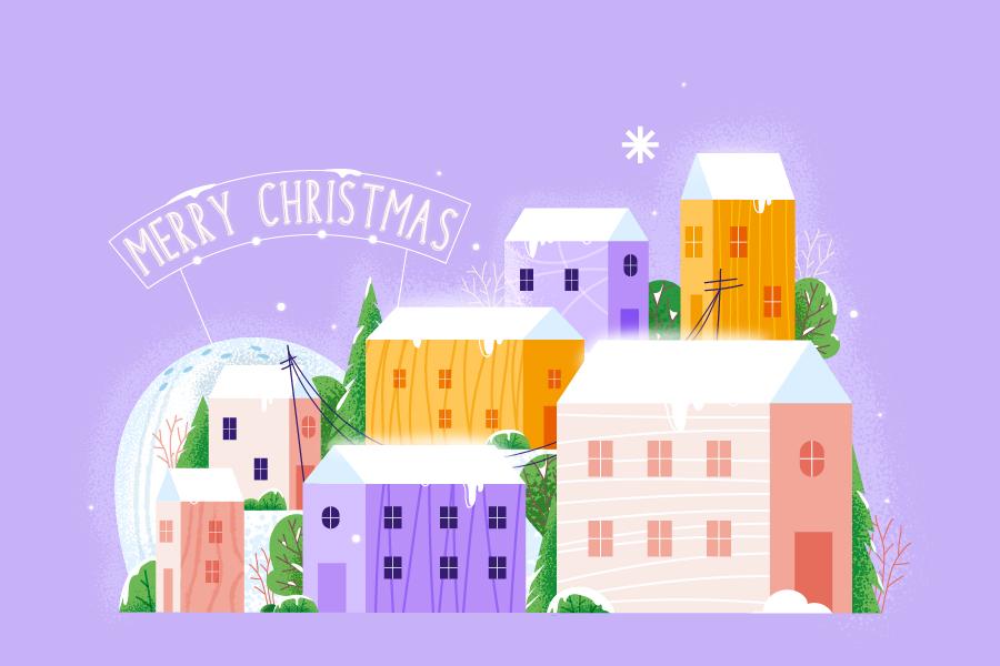 弊社の動画作成ツールでクリスマスのグリーティング動画を制作する方法