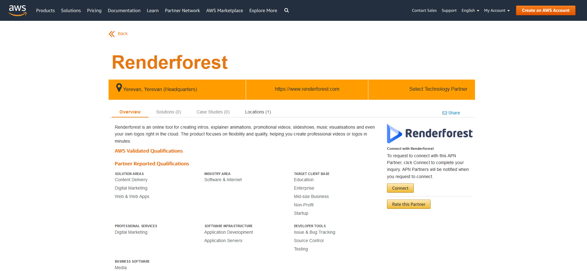 Renderforest partners with Amazon