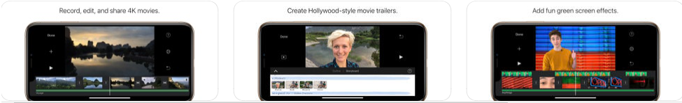 iMovie video Editing App