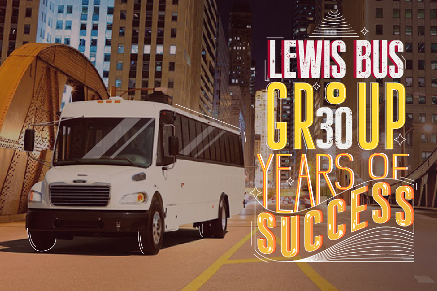 Lewis Bus Group : ثلاثون عاماً من النّجاح