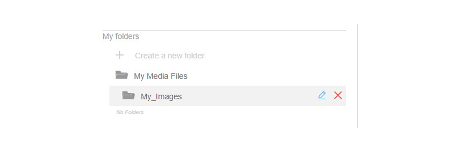 Renderforest Media FIle Folders