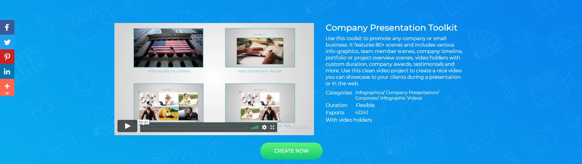 Corporate Presentation Video Template