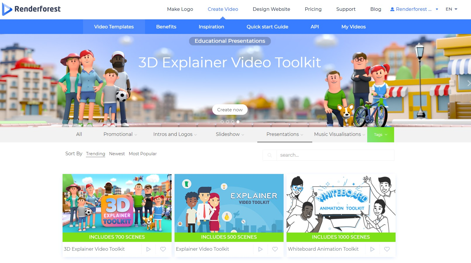 Educational Video Templates