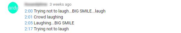 Comentários engraçados no Youtube sobre tempo