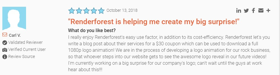Renderforest review