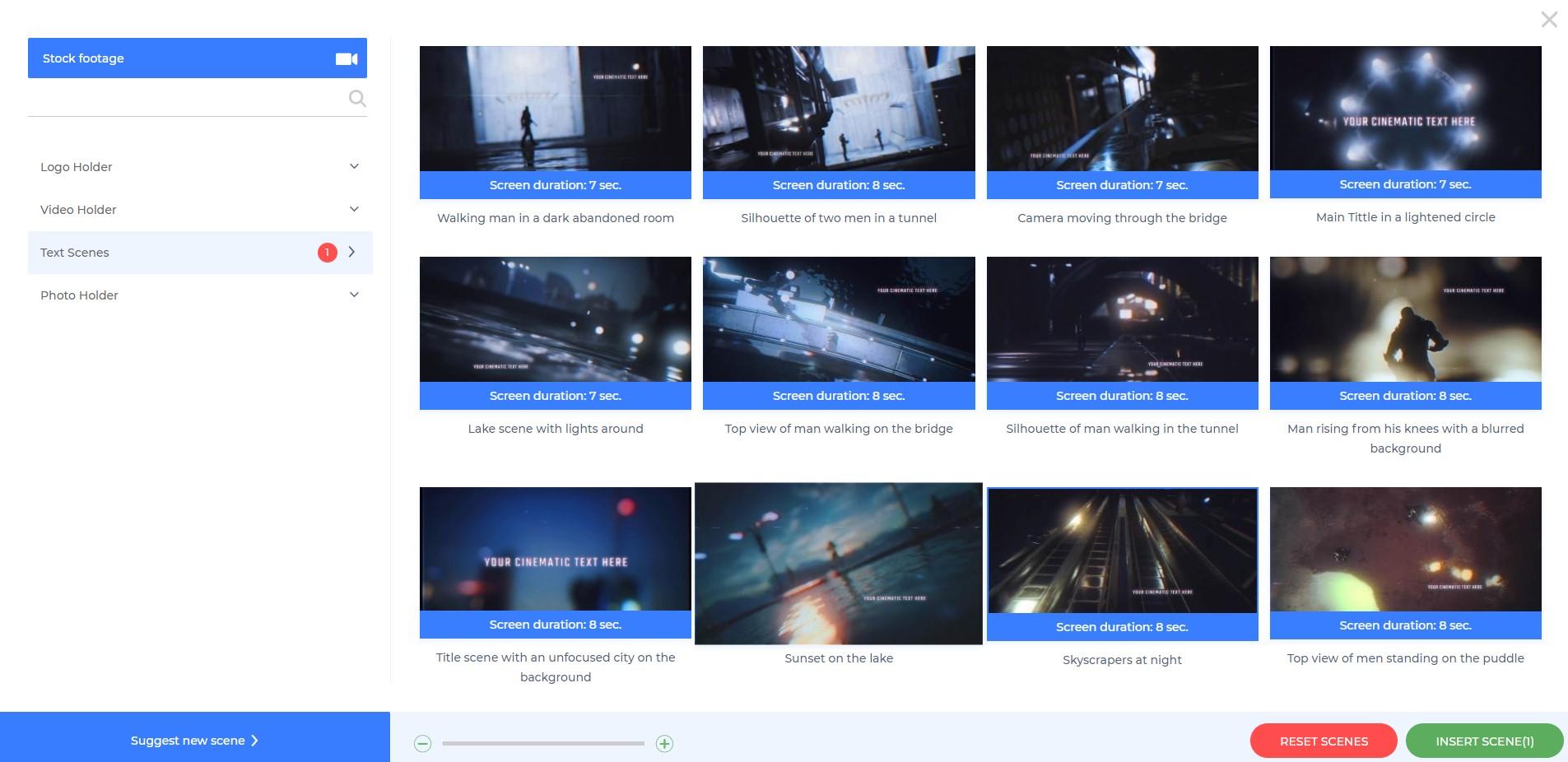 Cinematic Action Trailer - Scenes