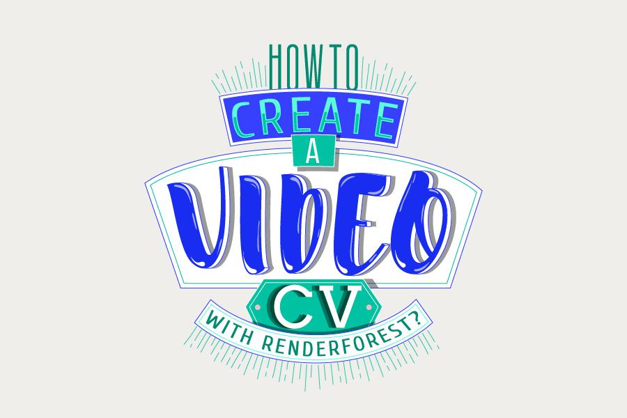 ¿Cómo crear un video CV con Renderforest?