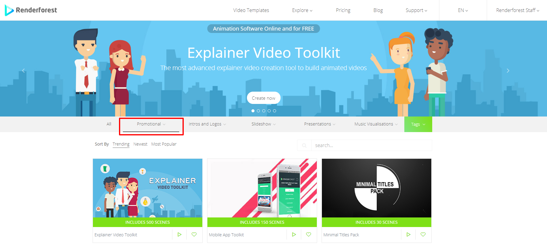 Promotional Video Templates