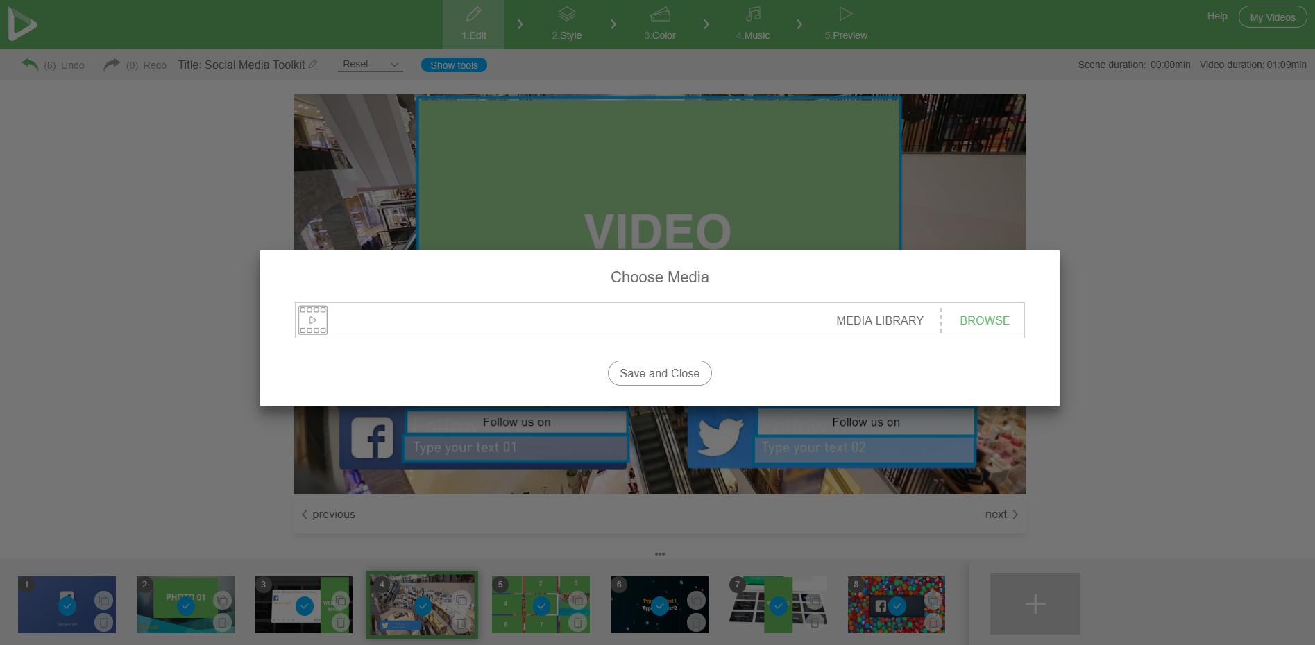 Social Media Toolkit - Stock Videos