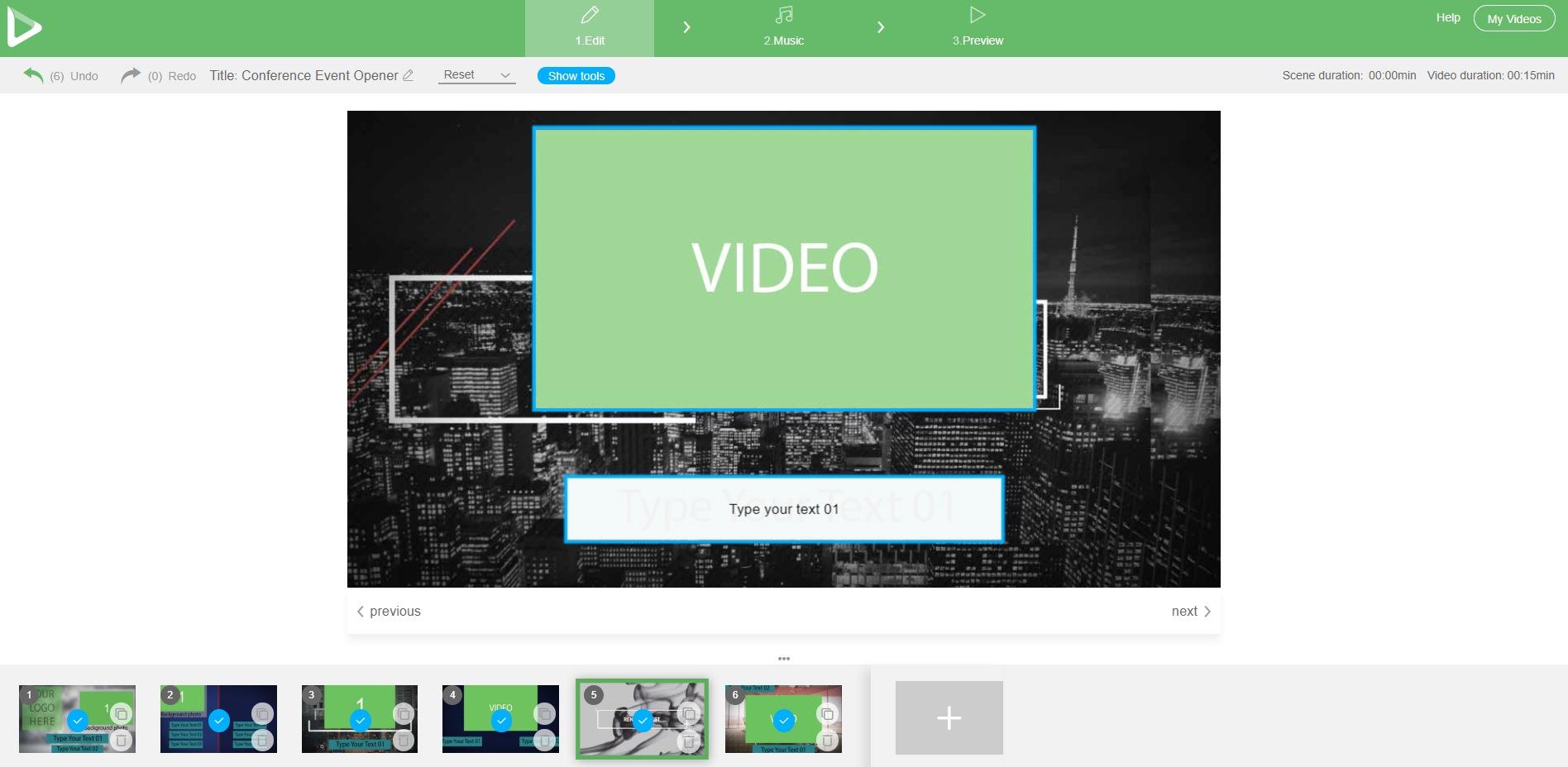 Renderforest Video Editor