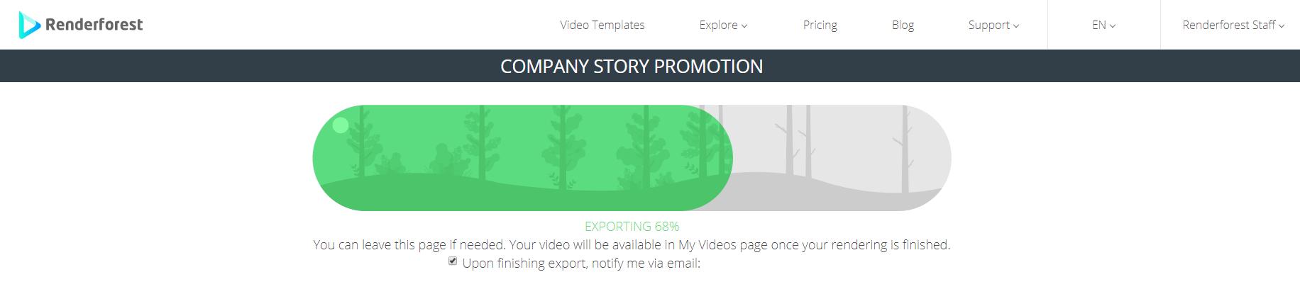 Видео Экспорт