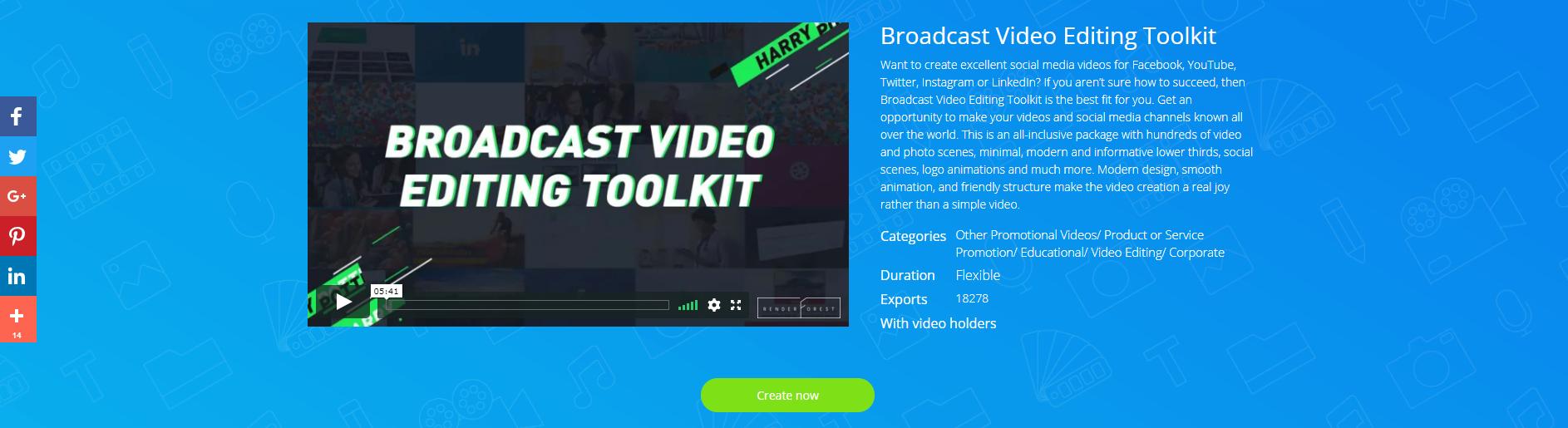 Набор инструментов для монтажа видео для трансляции