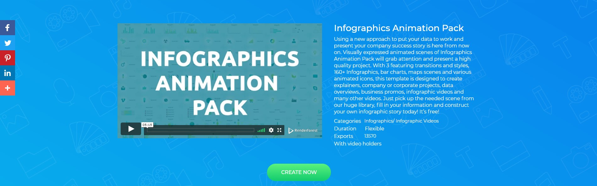 Infographics Animation Pack