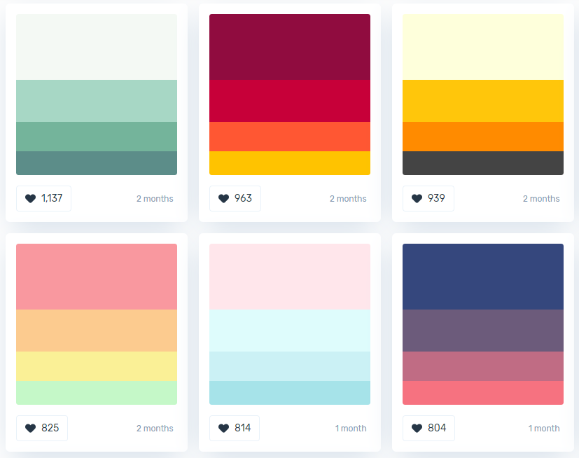 color combinations for logo