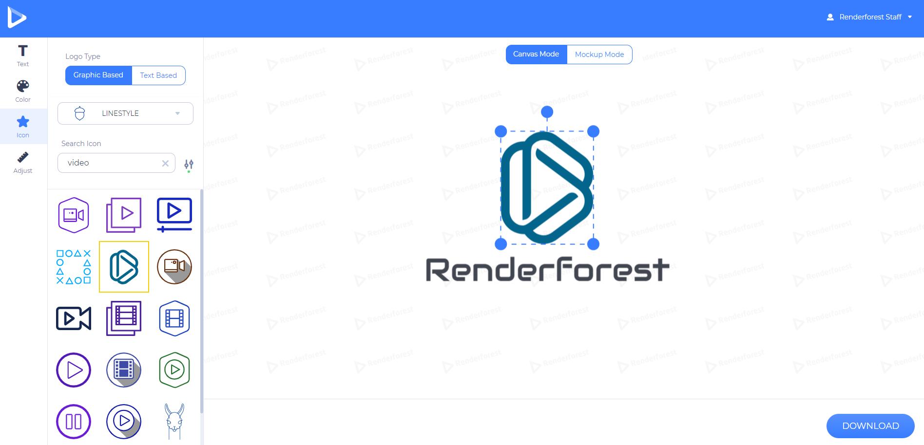 change logo icon
